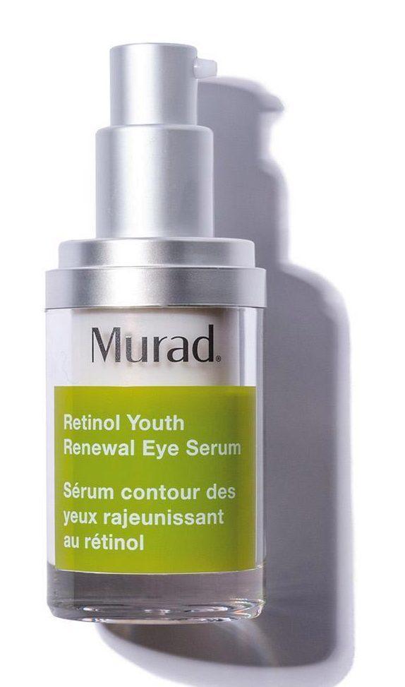 Murad Retinol Youth Renewal Eye Serum boosts collagen production to help combat dark shadows