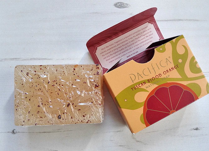 pacifica tuscan blood orange natural soap