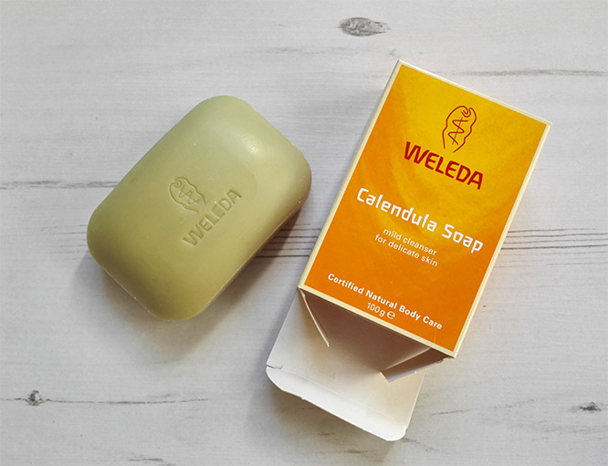 weleda calendula soap bar