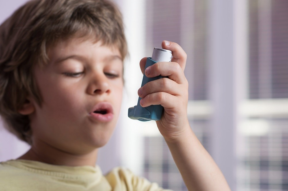School-based, self-managed, asthma interventions compared with no interventions may reduce mean hospitalizations.