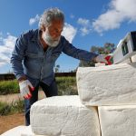 Artist seeks support to build 'cheese wall' at Mexico border