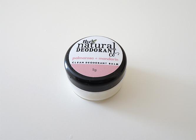 The Natural Deodorant Co. Clean Deodorant Balm - sample pot