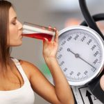High blood pressure: Drinking this red juice could lower your reading