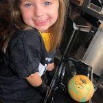 Cancer sufferer, five, who has always wanted to be a tattoo artist lives out her dream