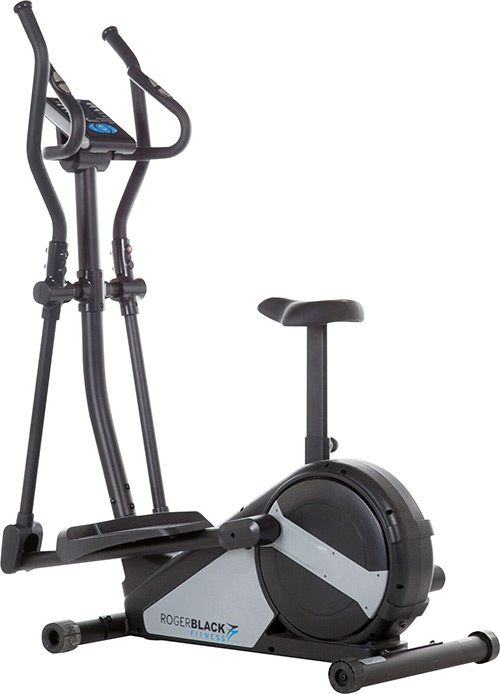 roger black 2 in 1 exercise bike cross trainer